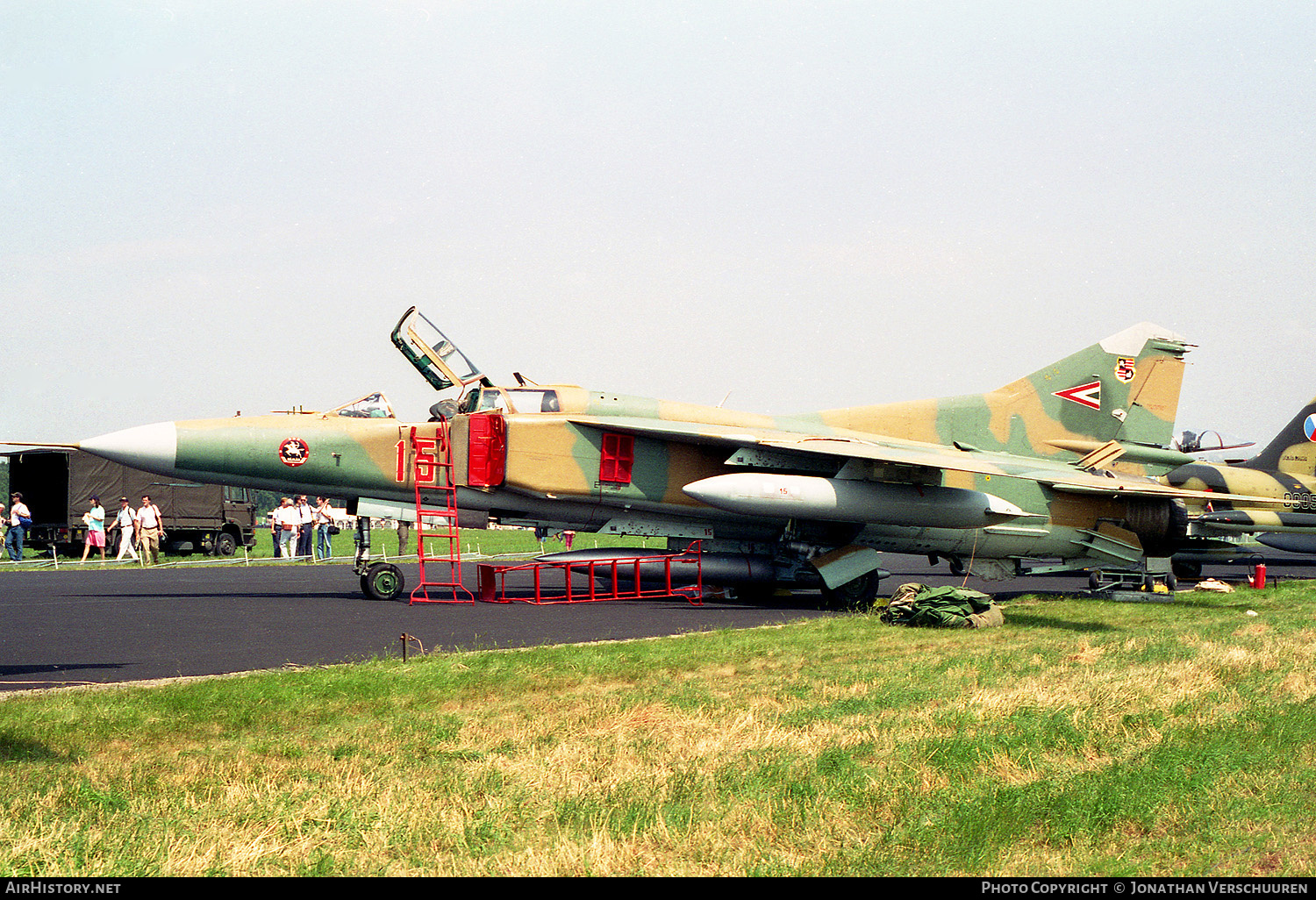 Aircraft Photo of 15 | Mikoyan-Gurevich MiG-23UB | Hungary - Air Force | AirHistory.net #235038