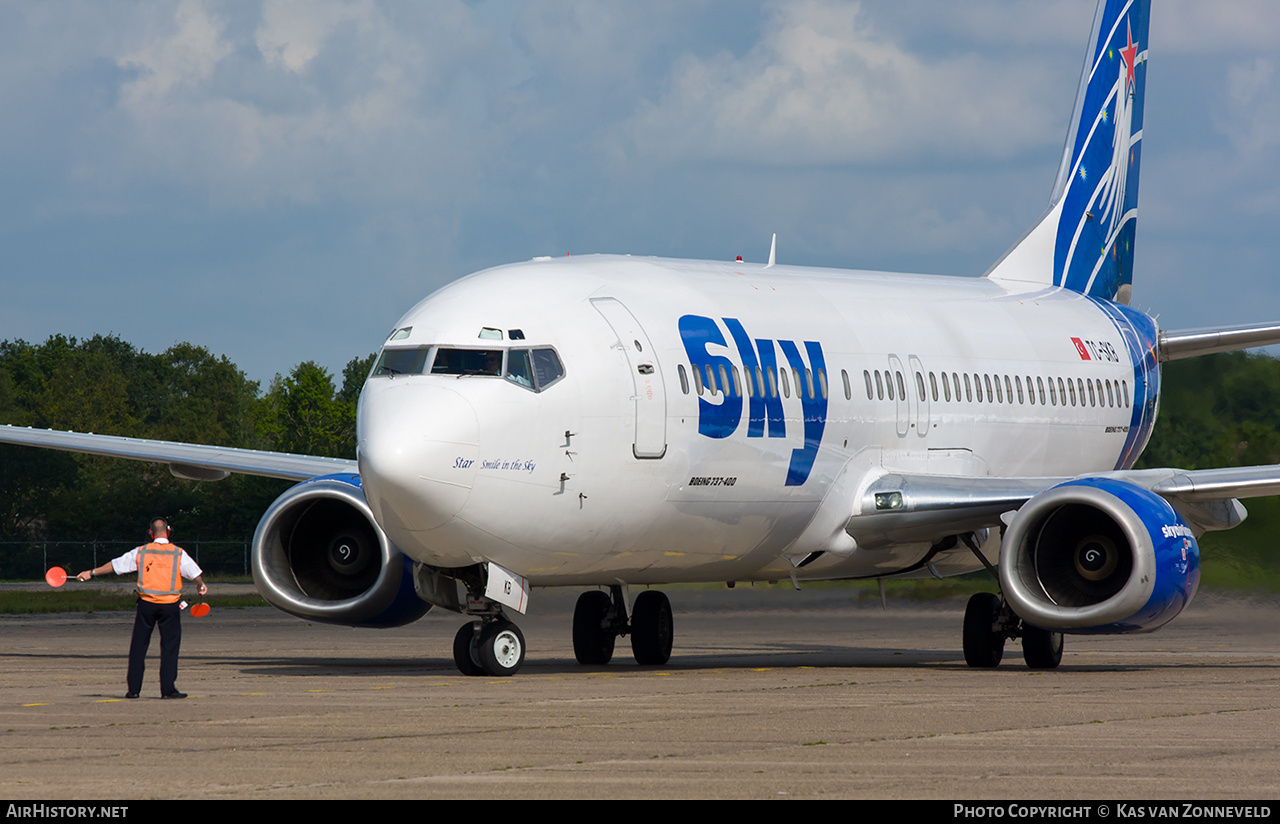 Aircraft Photo of TC-SKB | Boeing 737-430 | Sky Airlines | AirHistory.net #235045