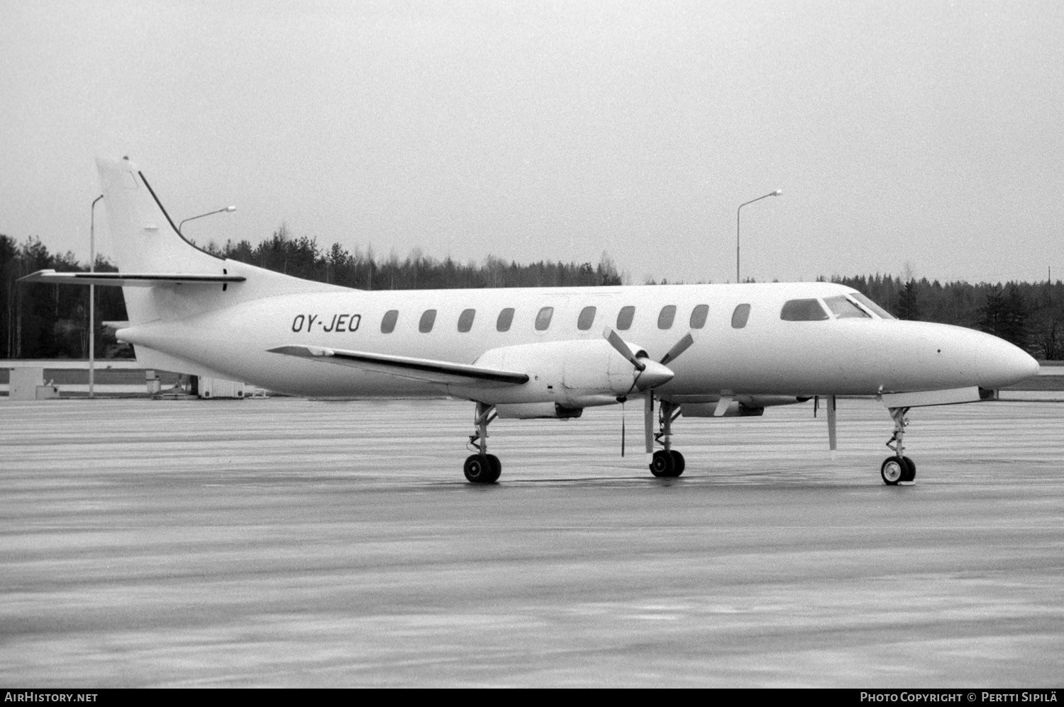 Aircraft Photo of OY-JEO | Swearingen SA-226TC Metro II | AirHistory.net #235094