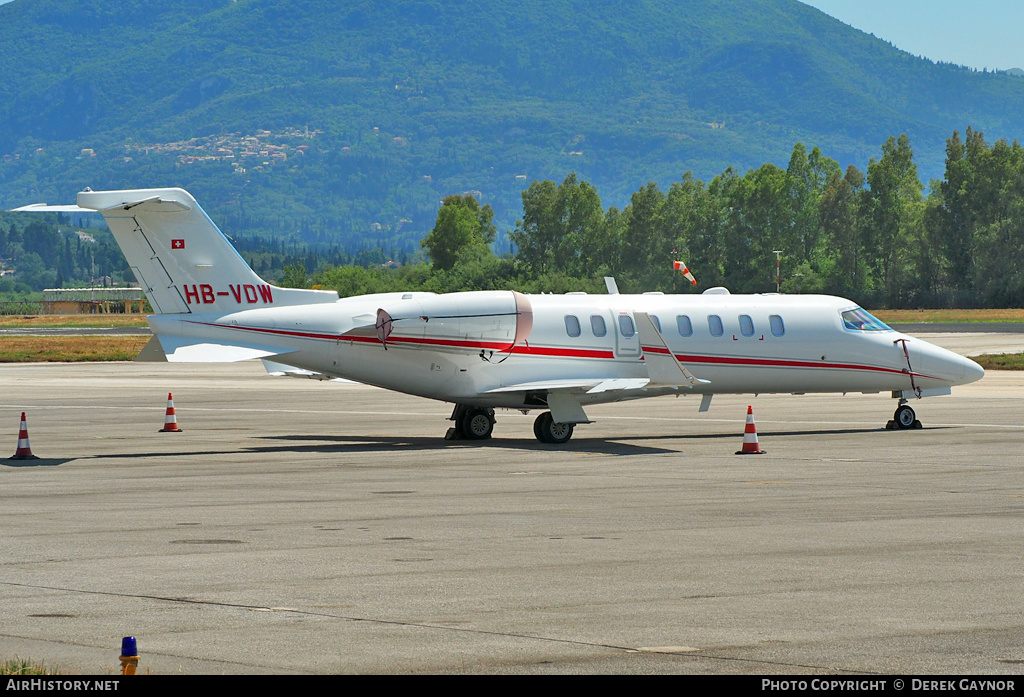 Aircraft Photo of HB-VDW | Learjet 45XR | AirHistory.net #235143