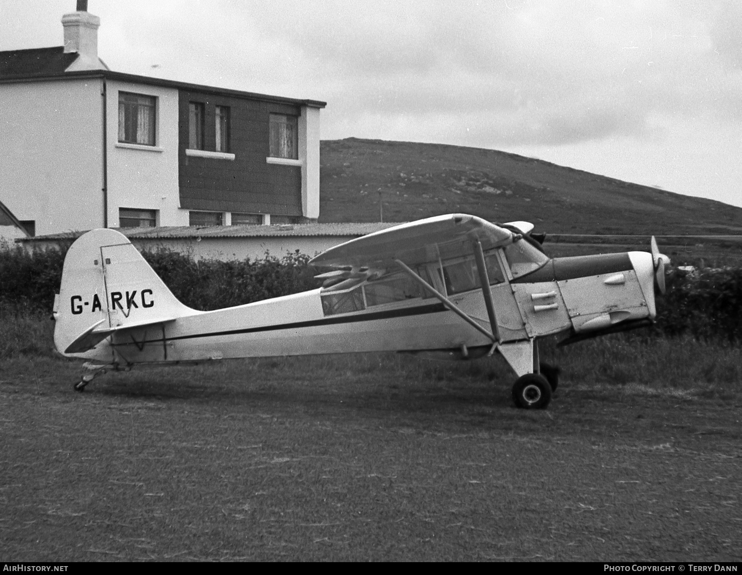 Aircraft Photo of G-ARKC | Auster 6A Tugmaster | AirHistory.net #235982
