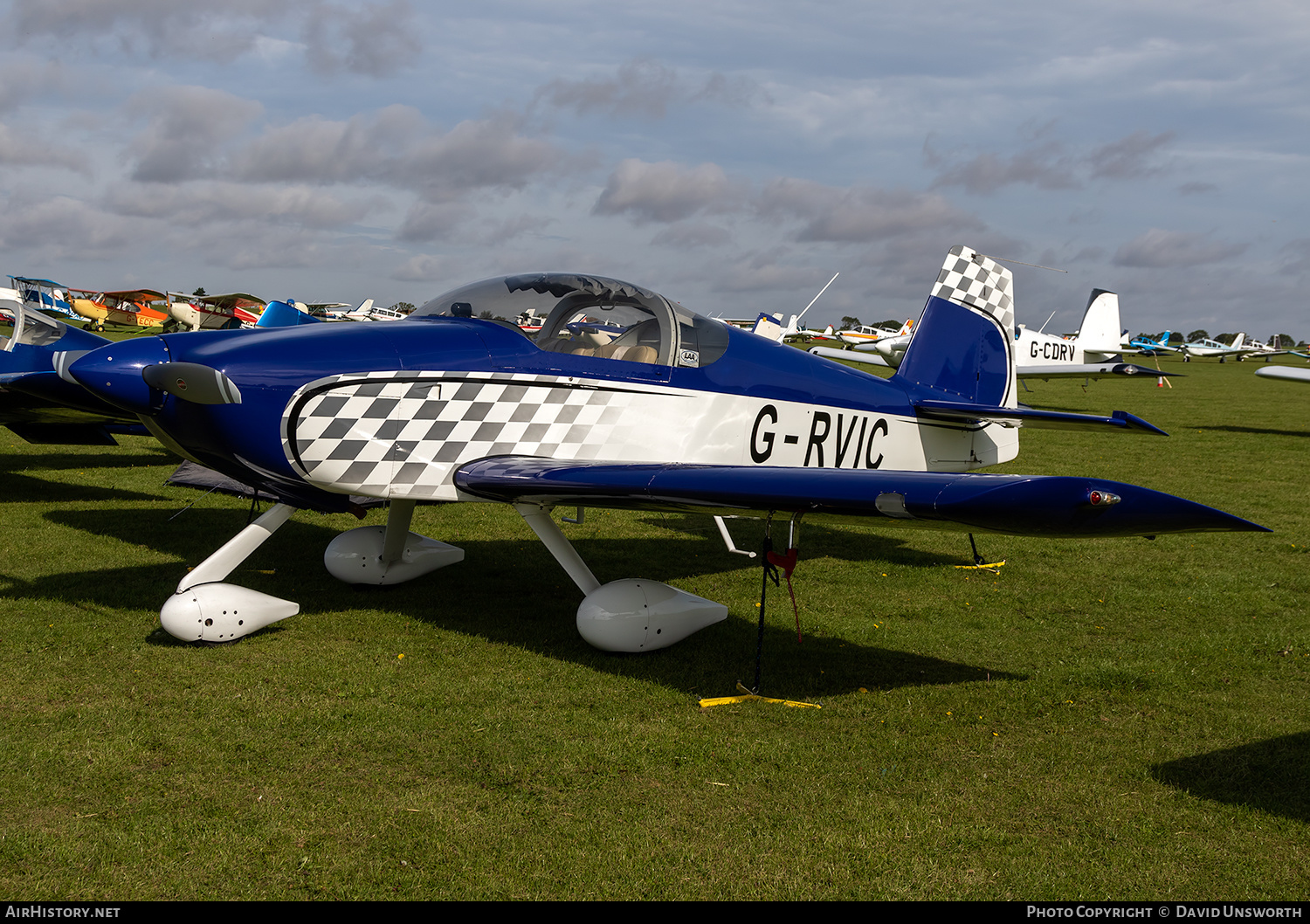 Aircraft Photo of G-RVIC | Van's RV-6A | AirHistory.net #236115