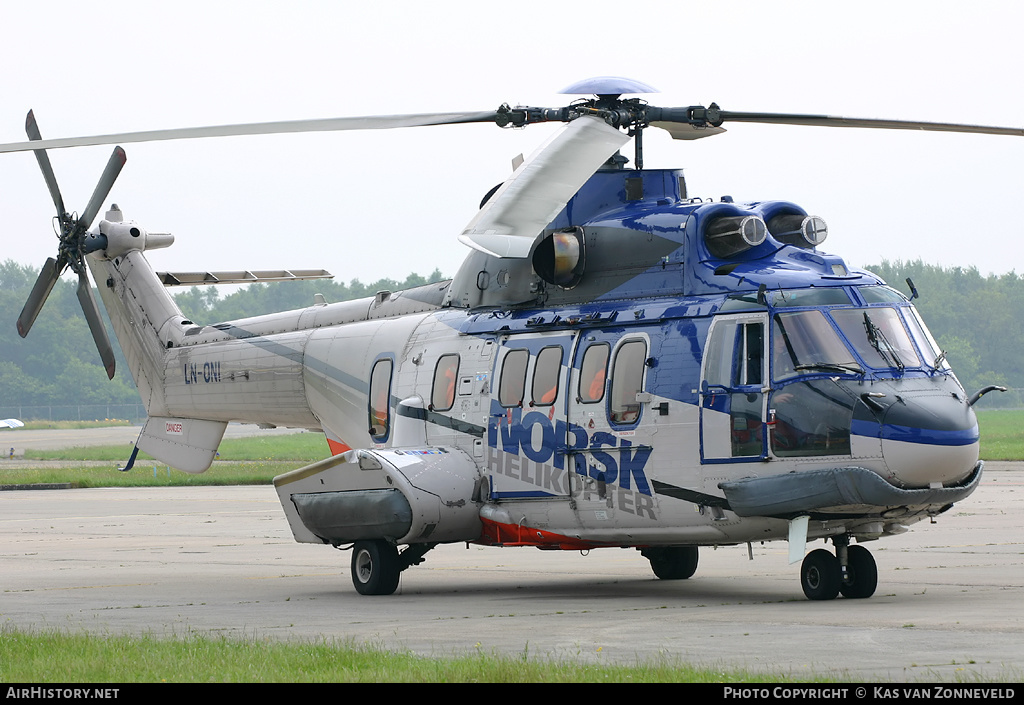 Aircraft Photo of LN-ONI | Eurocopter AS-332L2 Super Puma Mk2 | Norsk Helikopter | AirHistory.net #236143