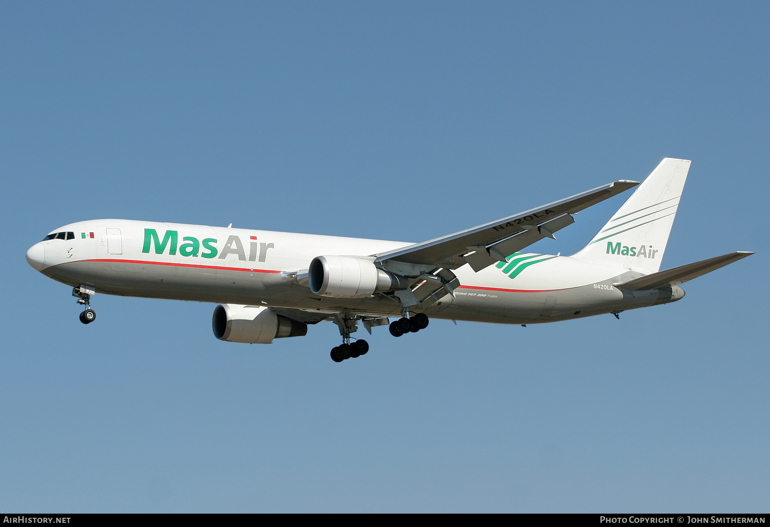 Aircraft Photo of N420LA | Boeing 767-316F/ER | MasAir | AirHistory.net #236484