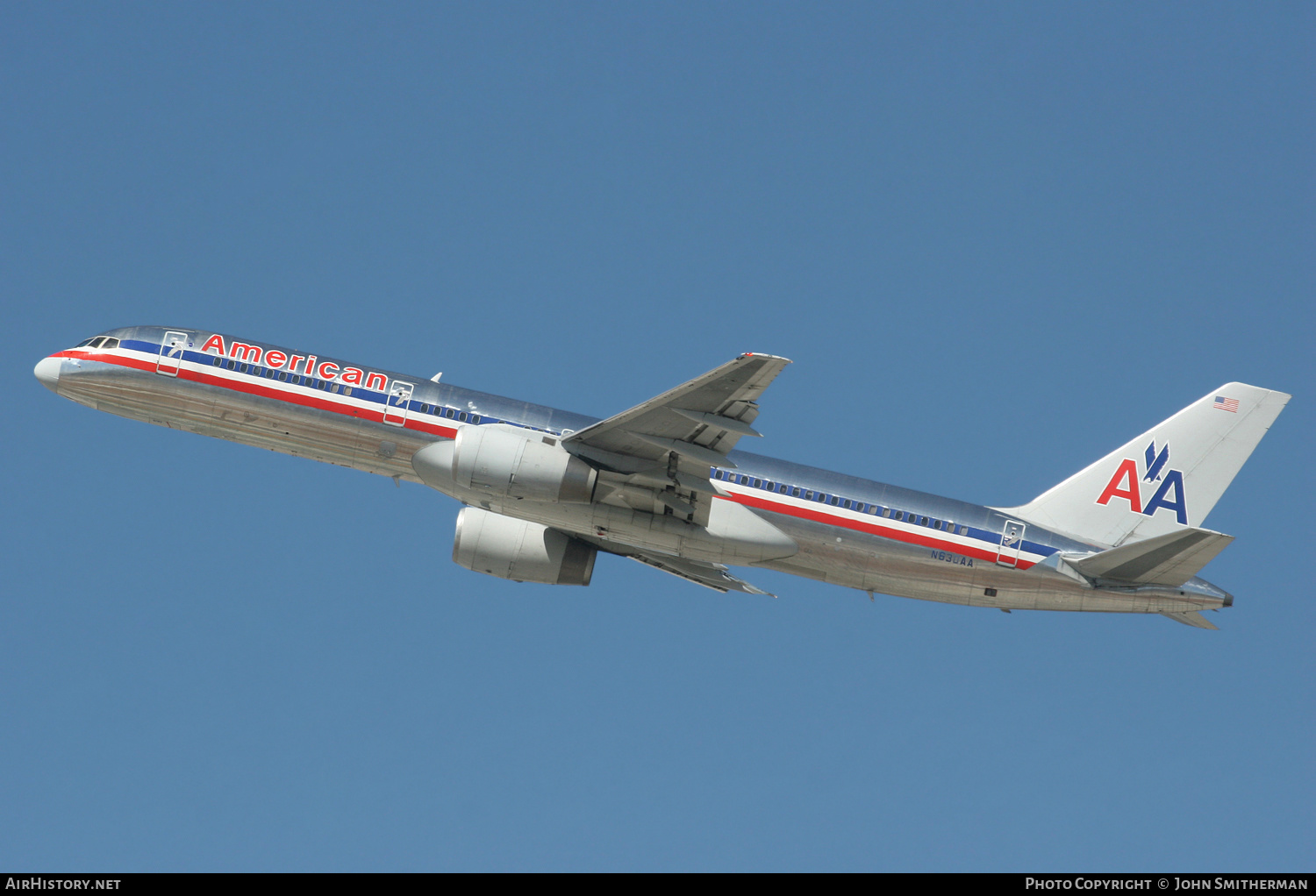 Aircraft Photo of N630AA | Boeing 757-223 | American Airlines | AirHistory.net #236600