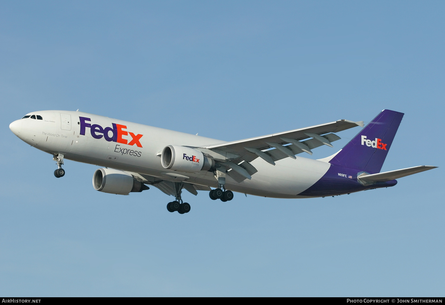 Aircraft Photo of N651FE | Airbus A300F4-605R | FedEx Express | AirHistory.net #236723