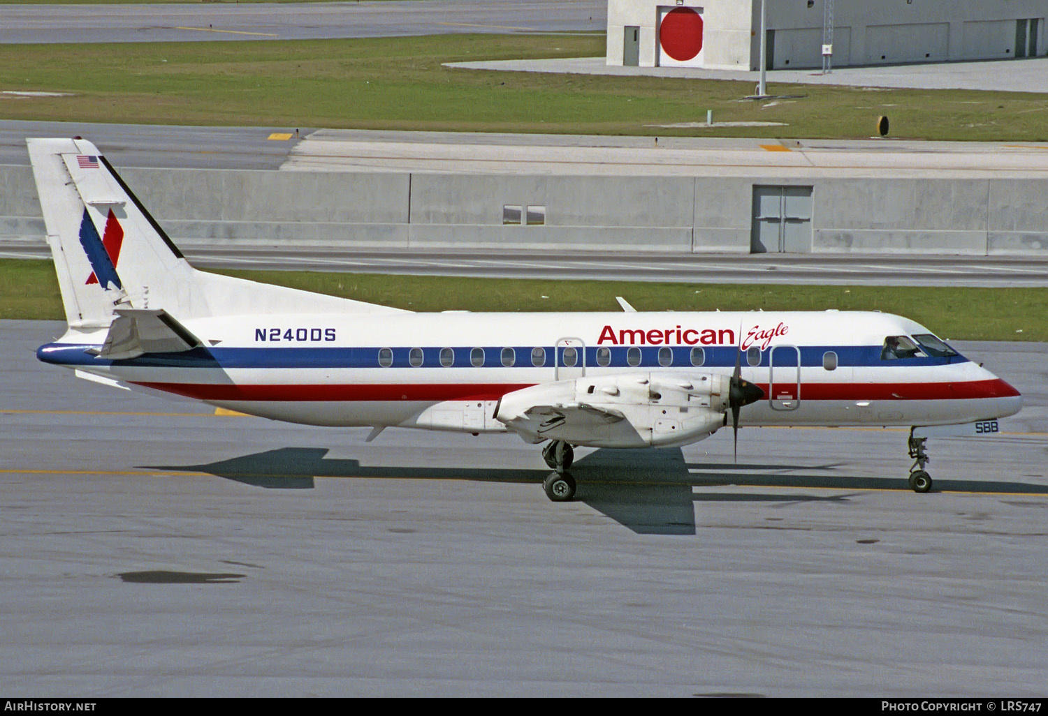 Aircraft Photo of N240DS | Saab 340B | American Eagle | AirHistory.net #240863