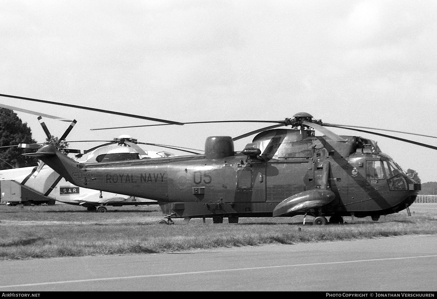 Aircraft Photo of ZA135 | Westland WS-61 Sea King HAS5 | UK - Navy | AirHistory.net #240997
