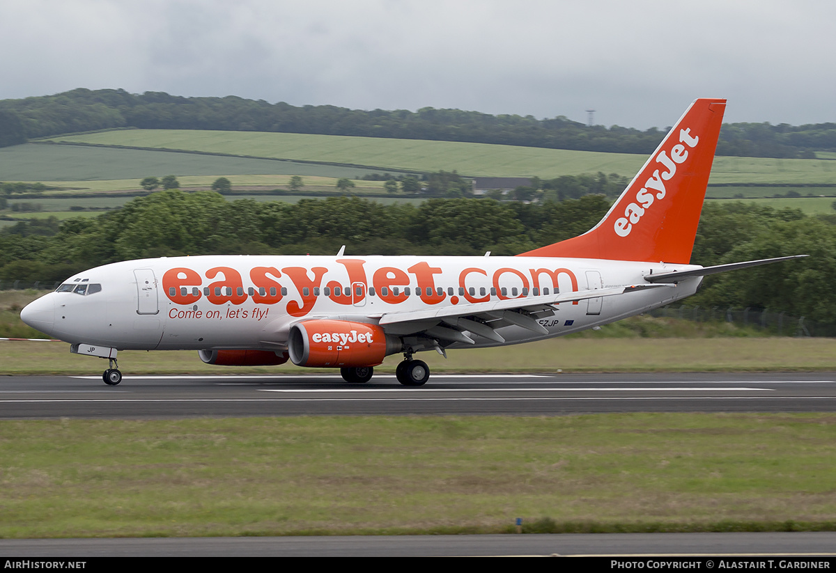 Aircraft Photo of G-EZJP | Boeing 737-73V | EasyJet | AirHistory.net #241086