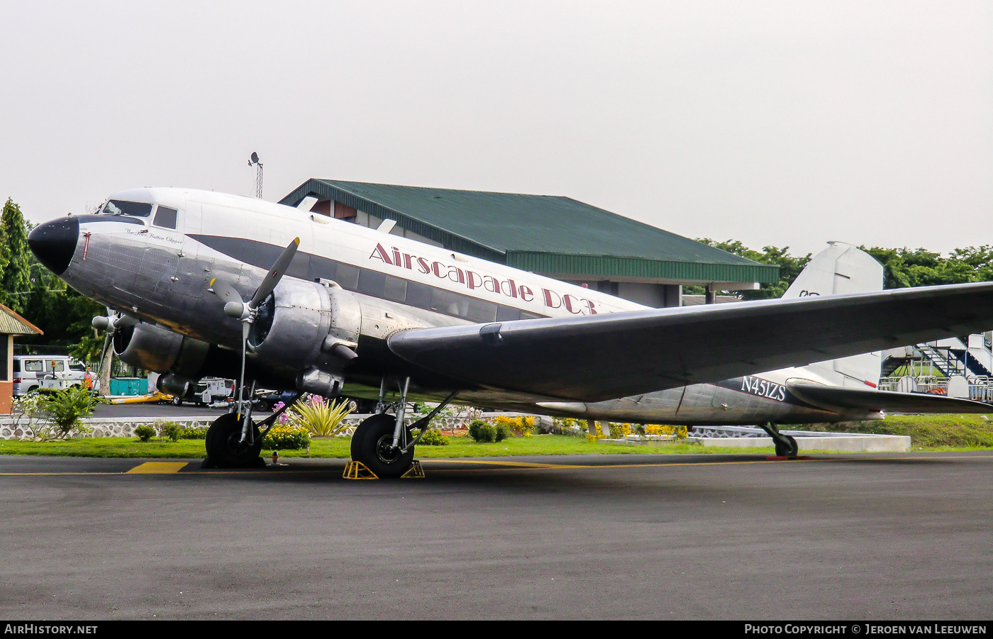 Aircraft Photo of N451ZS | Douglas DC-3(C) | Airscapade DC-3 | AirHistory.net #241091