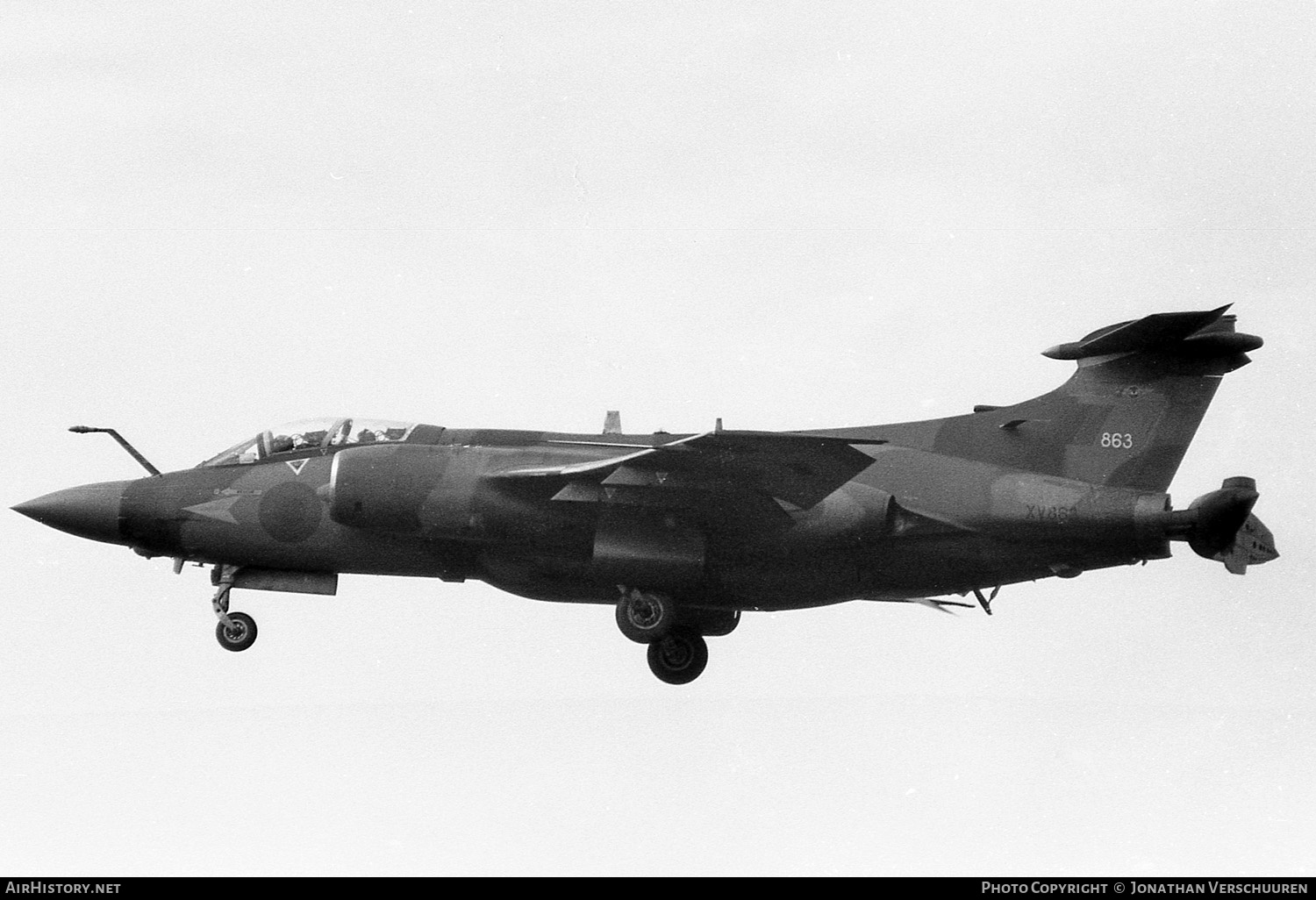 Aircraft Photo of XV863 | Hawker Siddeley Buccaneer S2B | UK - Air Force | AirHistory.net #241146