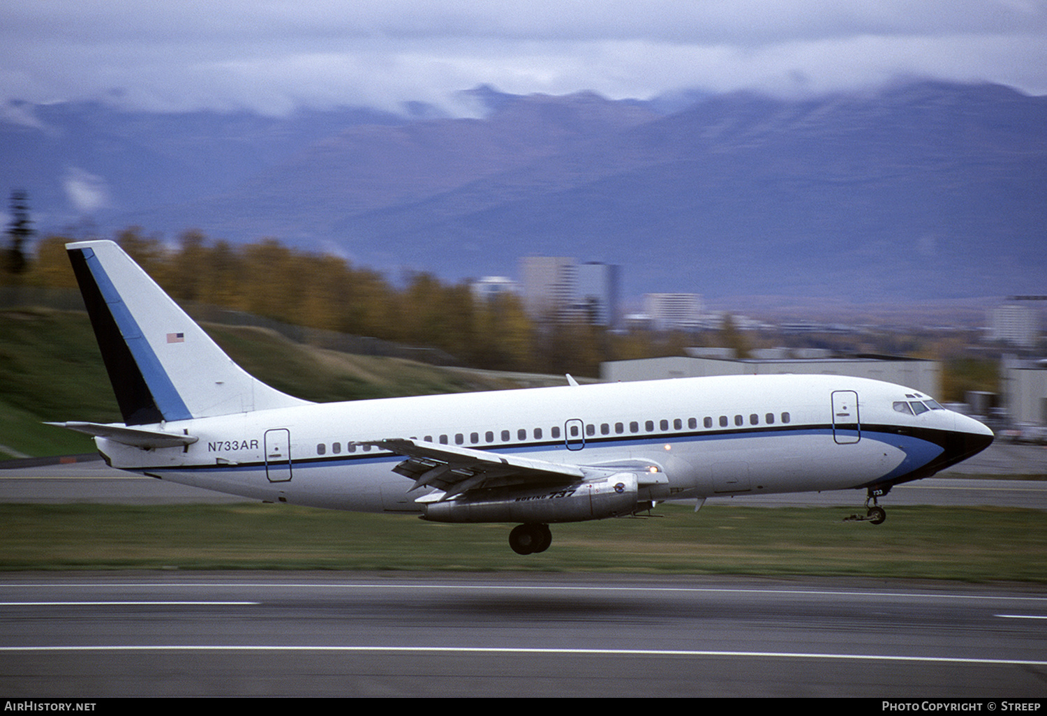 Aircraft Photo of N733AR | Boeing 737-205/Adv | AirHistory.net #241222
