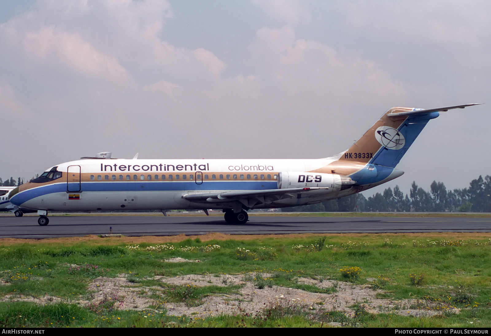 Aircraft Photo of HK-3833X | Douglas DC-9-14 | Intercontinental Colombia | AirHistory.net #241372