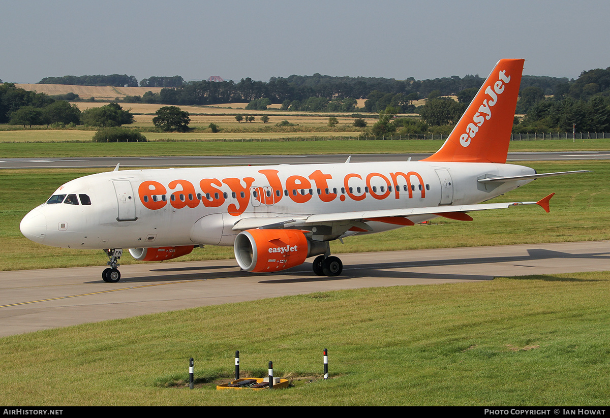 Aircraft Photo of G-EZFN | Airbus A319-111 | EasyJet | AirHistory.net #241480
