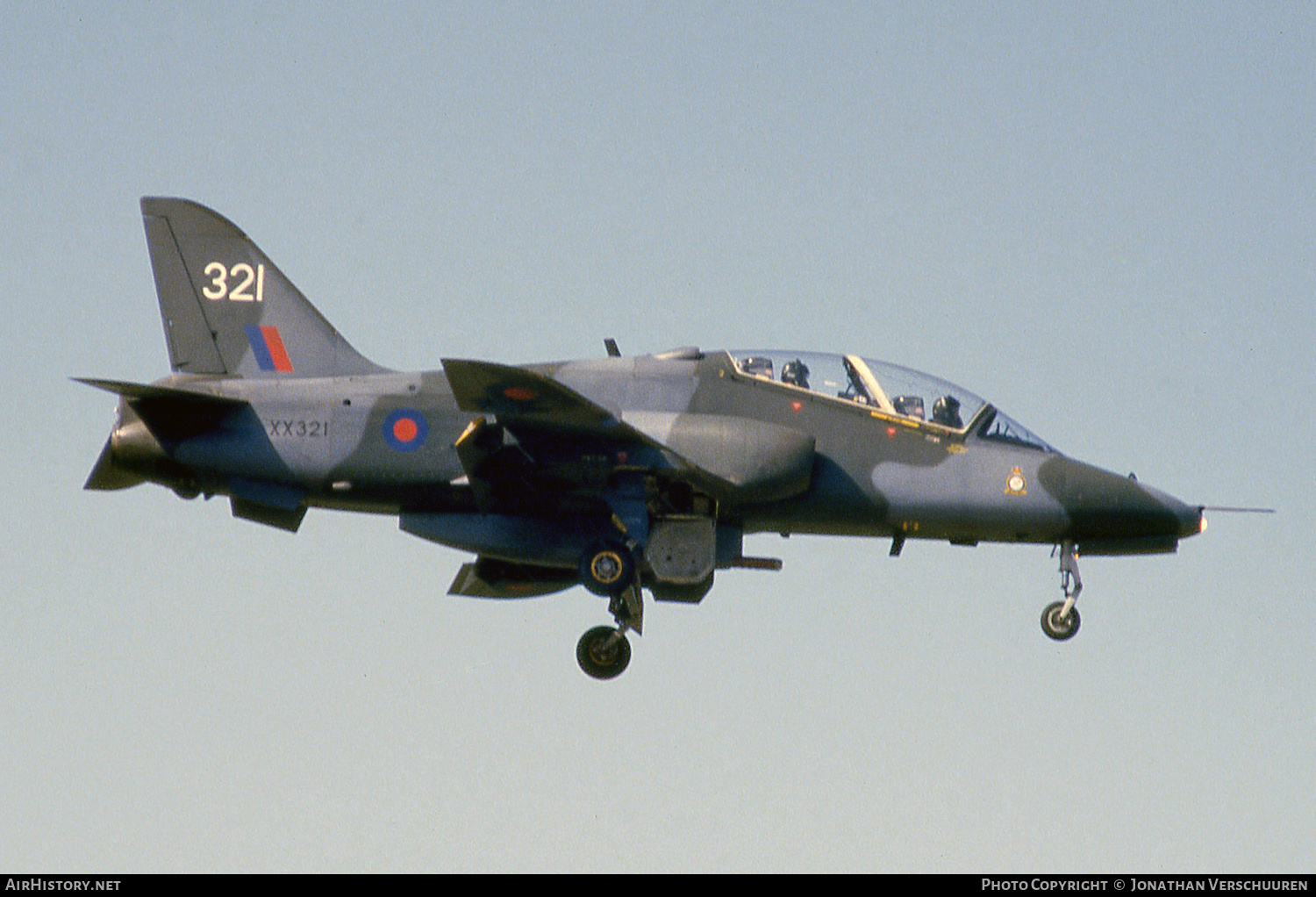 Aircraft Photo of XX321 | British Aerospace Hawk T1 | UK - Air Force | AirHistory.net #245378