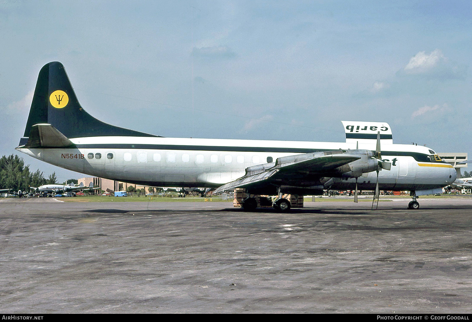 Aircraft Photo of N5541B | Lockheed L-188C(F) Electra | Carib West | AirHistory.net #245508