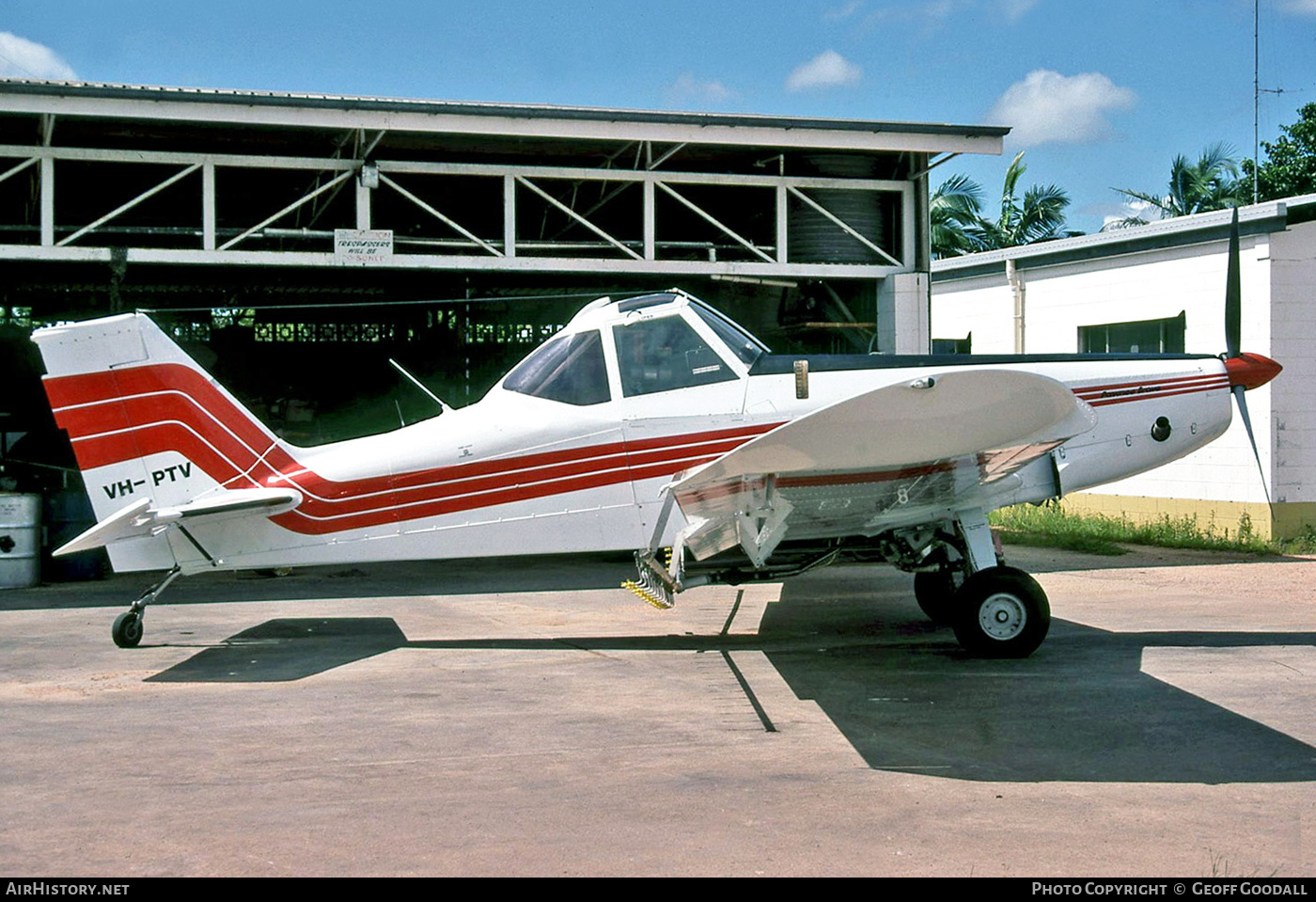 Aircraft Photo of VH-PTV | Piper PA-36-285 Pawnee Brave | Blanch's Aerial Agriculture | AirHistory.net #268204