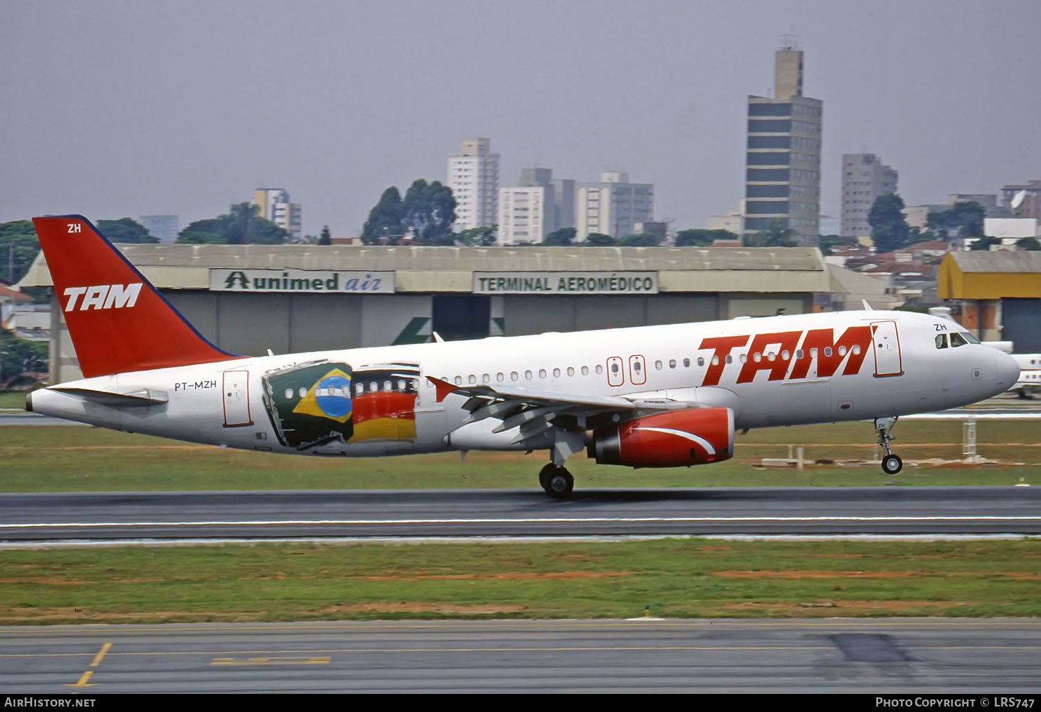 Aircraft Photo of PT-MZH | Airbus A320-232 | TAM Linhas Aéreas | AirHistory.net #289287