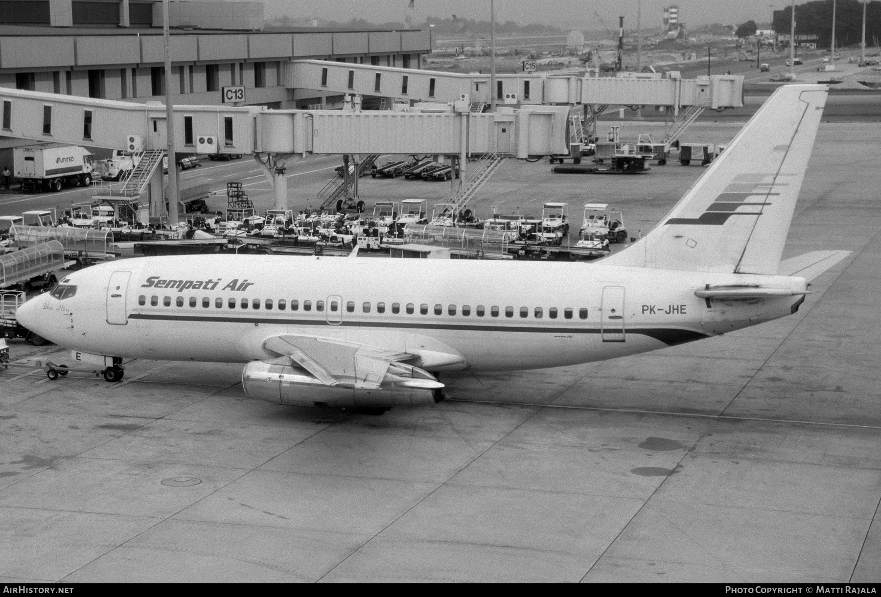Aircraft Photo of PK-JHE | Boeing 737-281 | Sempati Air | AirHistory.net #289958