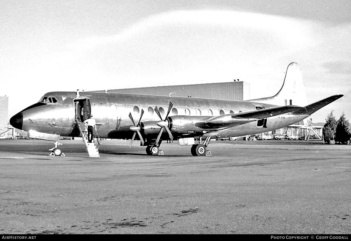 Aircraft Photo of A6-436 | Vickers 816 Viscount | Australia - Air Force | AirHistory.net #290003