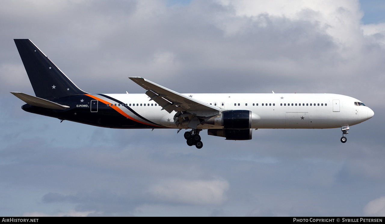 Aircraft Photo of G-POWD | Boeing 767-36N/ER | Titan Airways | AirHistory.net #295294