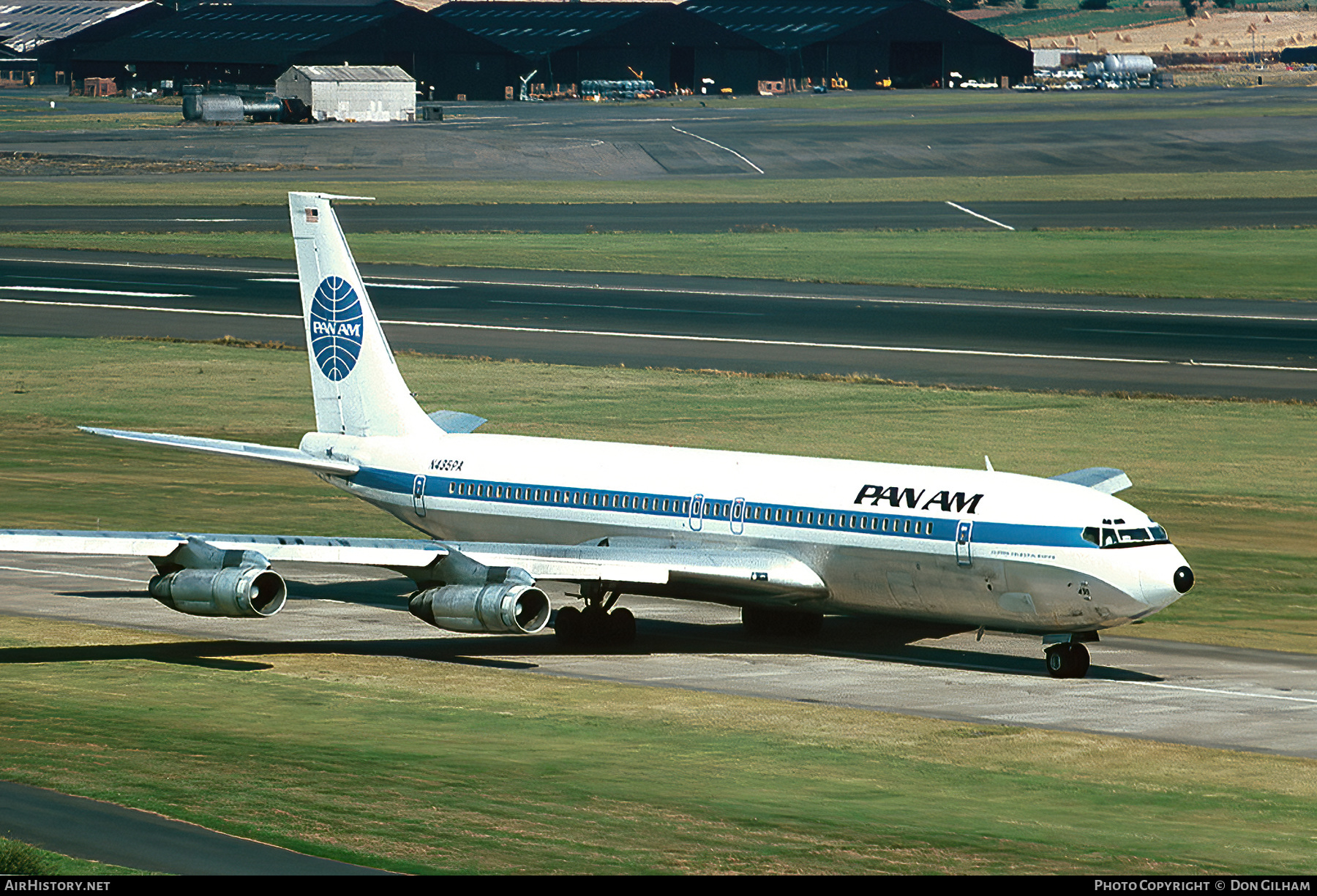 Aircraft Photo of N435PA | Boeing 707-321B | Pan American World Airways - Pan Am | AirHistory.net #301412