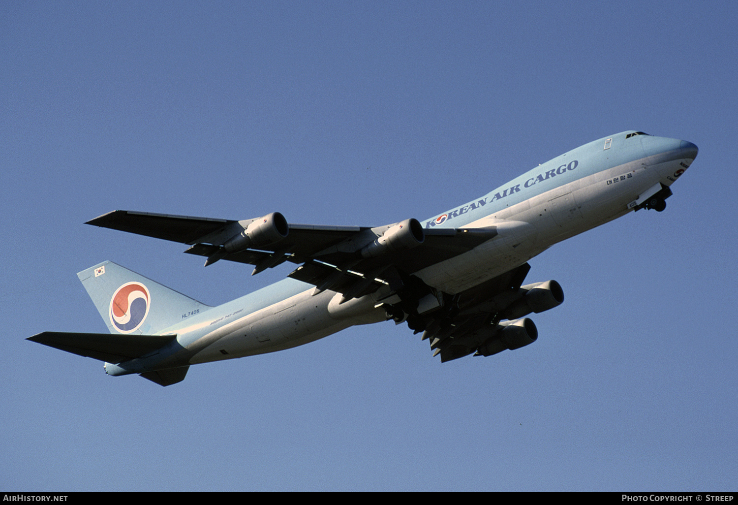 Aircraft Photo of HL7405 | Boeing 747-2B5F/SCD | Korean Air Cargo | AirHistory.net #351238