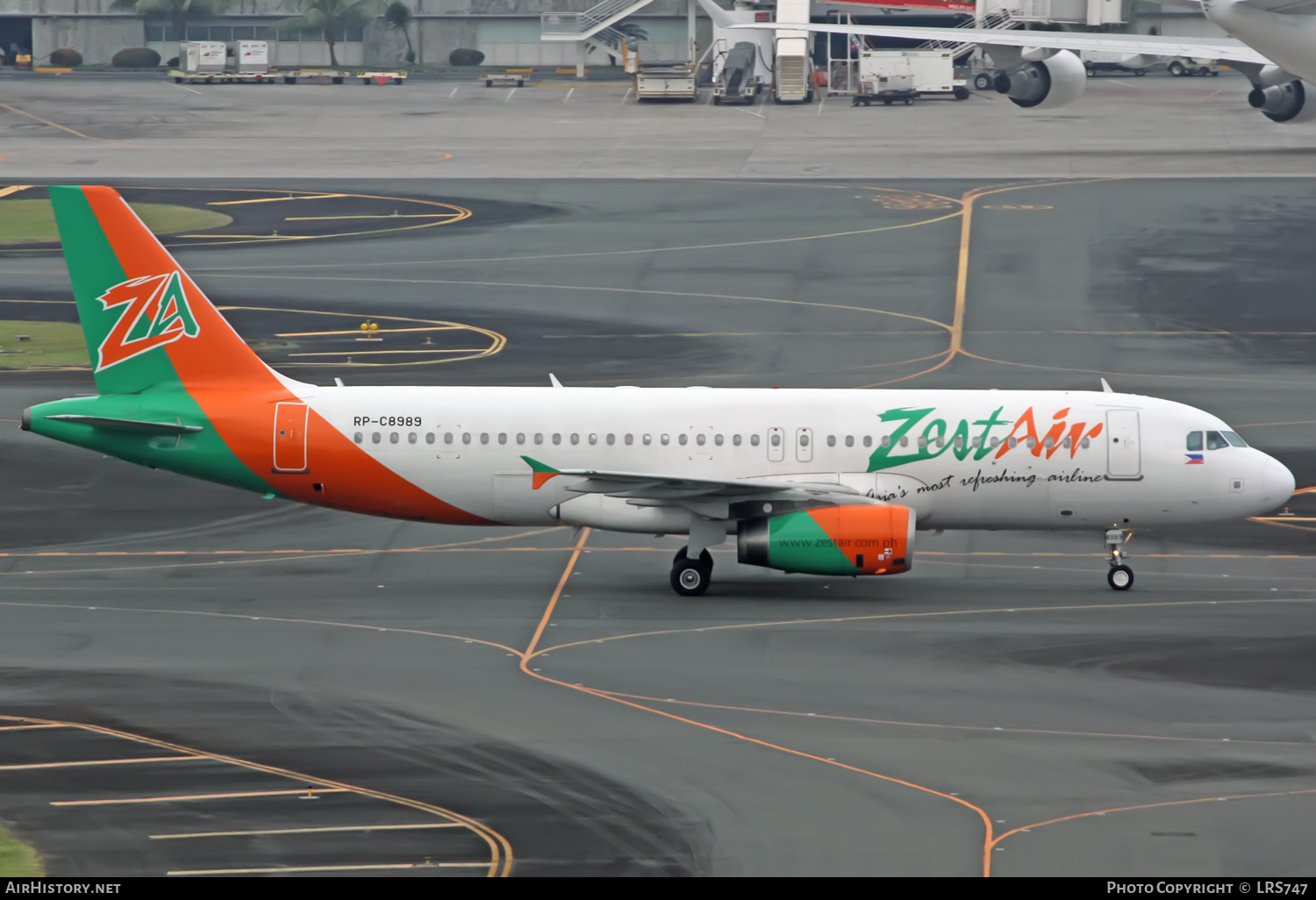 Aircraft Photo of RP-C8989 | Airbus A320-232 | Zest Air | AirHistory.net #358909