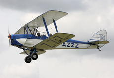 Aircraft Photo of G-AZZZ | De Havilland D.H. 82A Tiger Moth II | AirHistory.net #312207
