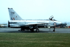 Aircraft Photo of XR716 | English Electric Lightning F3 | UK - Air Force | AirHistory.net #313003