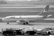 Aircraft Photo of LX-LGH | Boeing 737-2C9/Adv | Luxair | AirHistory.net #319174