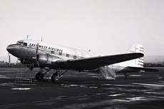 Aircraft Photo of VH-EWB | Douglas DC-3(C) | East-West Airlines | AirHistory.net #2935
