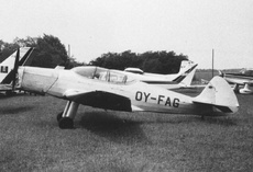 Aircraft Photo of OY-FAG | SAI KZ-II Trainer | AirHistory.net #9874