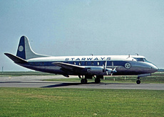 Aircraft Photo of G-APZB | Vickers 707 Viscount | Starways | AirHistory.net #14740