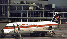 Aircraft Photo of G-AVOF | BAC 111-416EK One-Eleven | Cambrian Airways - British Air Services | AirHistory.net #9274
