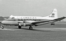 Aircraft Photo of G-AOGO | De Havilland D.H. 114 Heron 2 | Cambrian Airways | AirHistory.net #15995