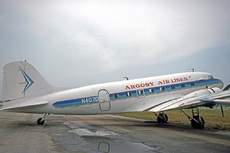 Aircraft Photo of N407D | Douglas DC-3-277C | Argosy Air Lines | AirHistory.net