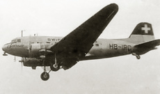 Aircraft Photo of HB-IRC | Douglas DC-3D | Swissair - Swiss Air Lines | AirHistory.net #8486