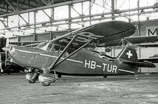 Aircraft Photo of HB-TUR | Stinson 108-2 Voyager | AirHistory.net
