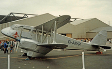 Aircraft Photo of G-AIYR | De Havilland D.H. 89A Dragon Rapide | British Aerospace Heritage | AirHistory.net #17412