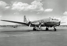 Aircraft Photo of NC93266 | Douglas C-54A Skymaster | Colonial Airlines | AirHistory.net