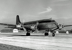 Aircraft photo of N95411 - Douglas C-54B Skymaster - Northwest Airlines, taken by RAScholefield Collection at Minneapolis / Saint Paul - International / Wold-Chamberlain Field (KMSP / MSP) in Minnesota, United States in 1949. Ex USAAF C-54B 43-17175. Bought by NWAL 5 December 1945 and used in their US and Canada services. To CF-TAL of Transair in May 1961. From the airline 60 years ago.