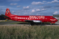 Aircraft Photo of G-OPFI | Vickers 802 Viscount | Parcelforce | AirHistory.net #20631