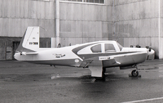Aircraft photo of VH-TWW - Mooney M-20E Super 21 - Tamworth Aero Club, taken by David Carter at Sydney - Bankstown (YSBK / BWU) in New South Wales, Australia in October 1969. VH-TWW was struck off the register in 2004 as destroyed.