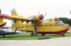 Aircraft photo of UD13-1 / 43-01 - Canadair CL-215-I (CL-215-1A10) - Spain - Air Force, taken by R.A.Scholefield at Cuatro Vientos / Museo del Aire [ Off-Airport ] in Spain on 7 November 2006 at the Museo del Aire.