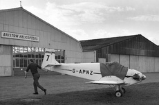 Aircraft Photo of G-APNZ | Druine D-31 Turbulent | Tiger Club | AirHistory.net #106837