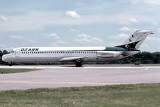 Aircraft Photo of N983Z | McDonnell Douglas DC-9-31 | Ozark Air Lines | AirHistory.net