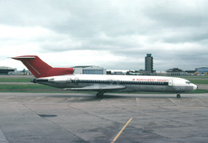 Aircraft photo of N279US - Boeing 727-251/Adv - Northwest Orient Airlines, taken by Gerard Helmer at Minneapolis / Saint Paul - International / Wold-Chamberlain Field (KMSP / MSP) in Minnesota, United States on 25 May 1981.