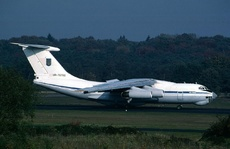 Aircraft photo of UR-76700 - Ilyushin Il-76MD - Ukraine - Air Force, taken by Gerard Helmer at Utrecht - Soesterberg (EHSB / UTC) (closed) in Netherlands on 21 October 1994.