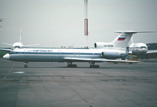 Aircraft photo of RA-85308 - Tupolev Tu-154B-2 - Aeroflot, taken by Gerard Helmer at Moscow - Vnukovo (UUWW / VKO) in Russia on 2 September 1993. Transferred to Donavia in 1994 and registration was cancelled in 1998.